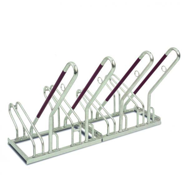 Fahrradständer -Moron Safe-, aus Stahl, 2 bis 6 Einstellplätze