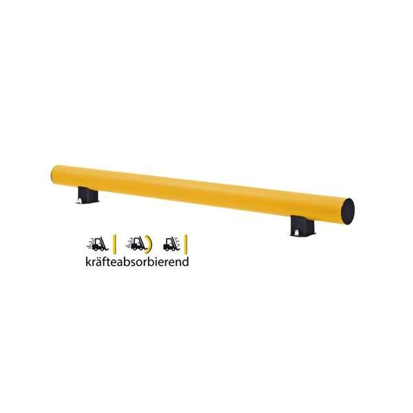 Regalschutz -Bounce-, flexibles Material, Höhe 500 mm aus Kunststoff, Länge 1200 oder 2400 mm