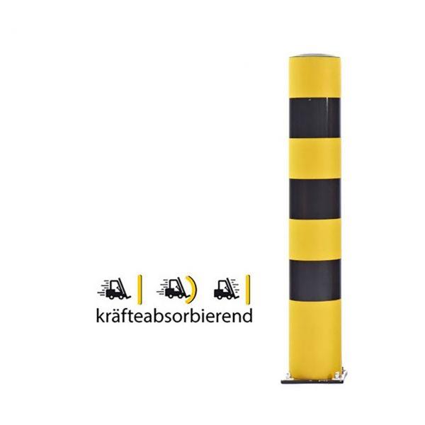 Rammschutzpoller -Bounce 200-, Ø 200 mm, Höhen 1000 bis 2000 mm, zum Aufdübeln