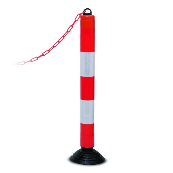 Leitzylinder -Cone- aus PE, mit Kettenaufnahme, anfahrbar