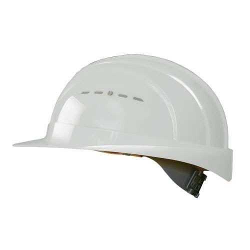 Schutzhelm -EuroGuard- aus HDPE, 4-Punkt-Gurtband, CE geprüft, nach DIN EN 397, versch. Farben