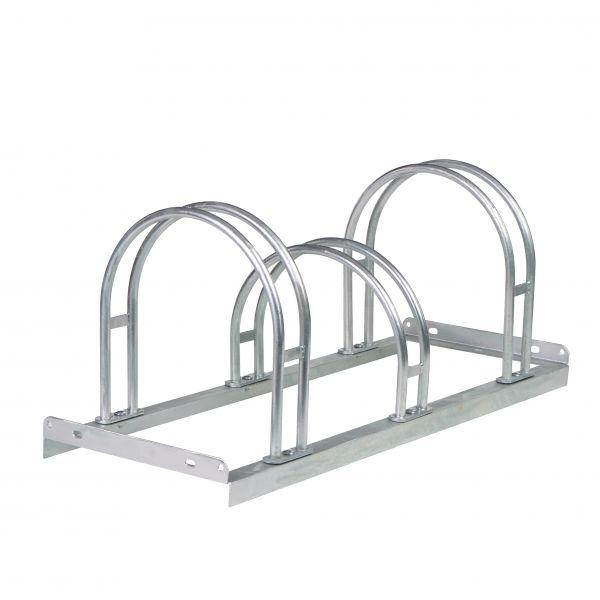 Fahrradständer -Moron Bogen-, aus Stahl, 2 bis 6 Einstellplätze