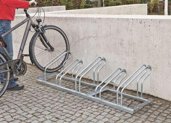 Fahrradständer -Moron-, aus Stahl, 2 bis 6 Einstellplätze