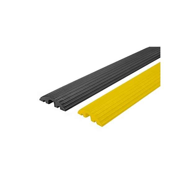Kabelbrücke Typ 220-45 - 3 Kabelkanäle - 2 á 20 mm + 1 á 45 mm, Breite 1200 mm, klein und flexibel