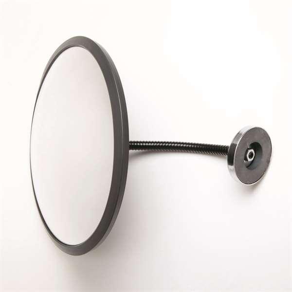 Industriespiegel -DETEKTIV M- aus Acrylglas, rund, inkl. Magnethalterung
