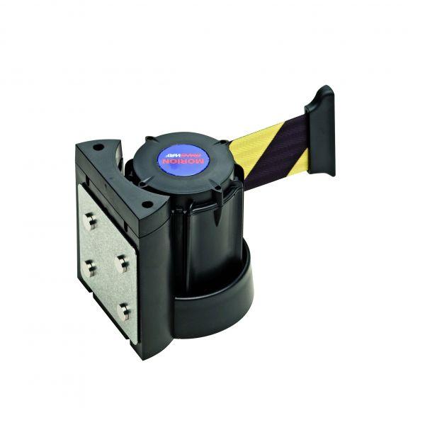 Wandgurtkassette -Willi-, magnetisch, aus ABS-Kunststoff, Gurtbreite 50 mm