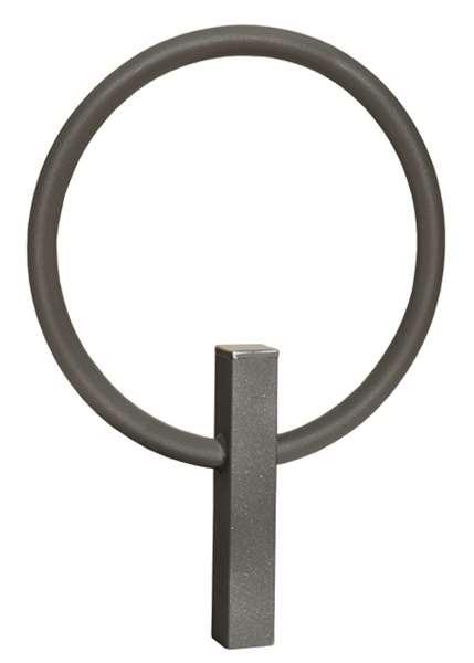 Anlehnbügel -Gira-, aus Stahl, Höhe 800 mm
