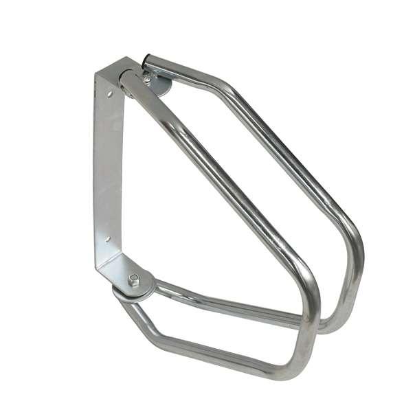 Einzelparker -Moron-, aus Stahl, 180° schwenkbar, zur Wandmontage