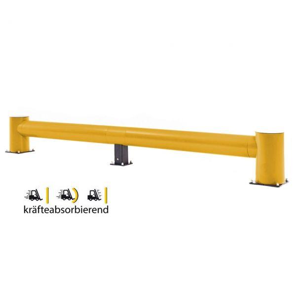 Rammschutzbalken -Bounce Traffic-, flexibles Material, Höhe 510 mm, Länge 3200 oder 4800 mm