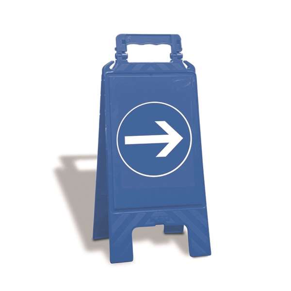 Warnaufsteller für Gebote, zweiseitig, Höhe 610 mm