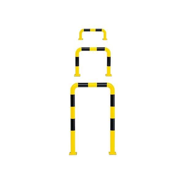 Schutzbügel -Mountain- Ø 76 mm, zum Aufdübeln, gelb/schwarz