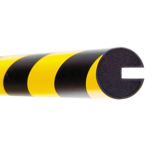 Profilschutz -Safe- aus PU-, weiß, Kreis 40/40/8, flexibel, Länge 1000 mm