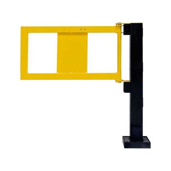 Geländer-Tür für Rammschutzgeländer -Hybrid-, mit Gasdruckfeder