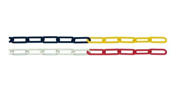 Absperrkette aus Polyethylen, Ø 6 oder 8 mm, Verpackungseinheit (VE) 25 oder 50 Meter