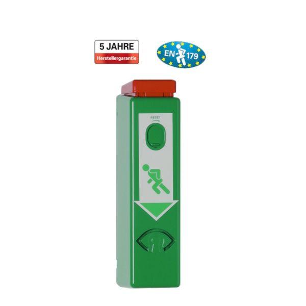 Einhand-Türwächter für Türdrücker oder Panikstangen, DIN EN 179, verschiedene Alarme/ Farben