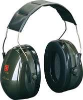 Kapselgehörschützer -Deaf II-, 31 dB SNR, als Kopf-, Nacken-, Kopfbügel-PTL