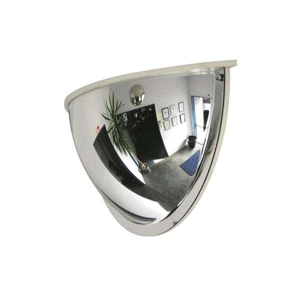 Überwachungsspiegel -PANORAMA-180- mit Rahmen aus Acrylglas