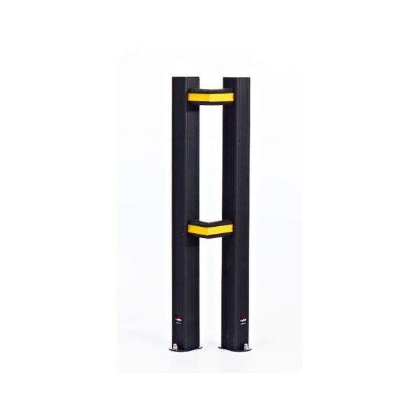 Eckverbinder für Rammschutzgeländer -Bounce-, Verpackungseinheit (VE) 2 Stück