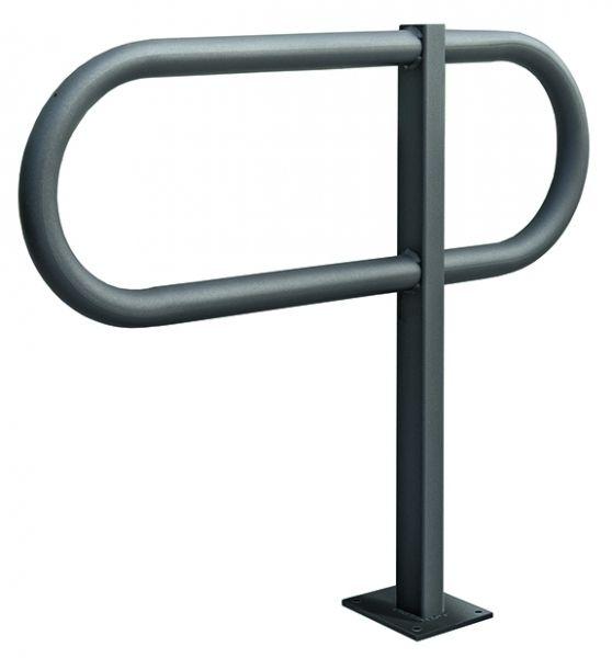 Anlehnbügel -Toru- , aus Stahl, Höhe 800 mm
