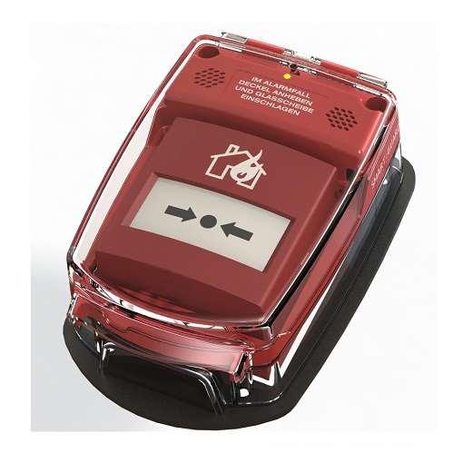 Handmelder-Abdeckung -e-Cover® groß-, für Handmelder bis 138 x 138 mm, batteriebetrieben