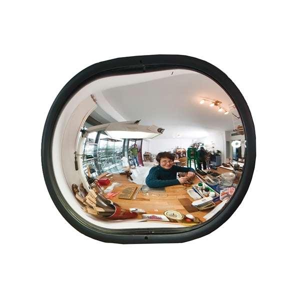 Raumspiegel -INDOOR- aus Acrylglas, oval