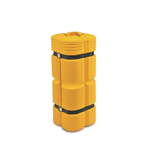 Säulenanfahrschutz -Mountain-, aus Polyethylen, Höhe 1100 mm