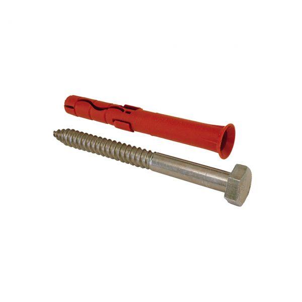 Spezialdübel mit Schraube