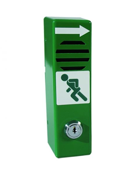 Türwächter Standard, mit Schwenkbedienung, grün o. langnachl., versch. Schlösser