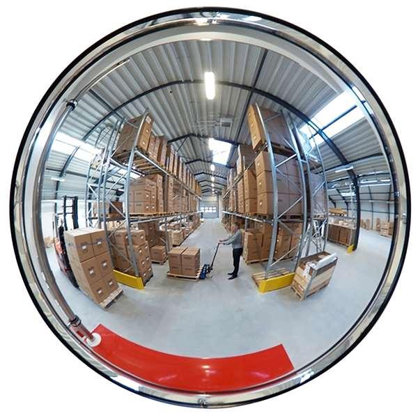 Raumspiegel -INDOOR- aus Acrylglas, rund