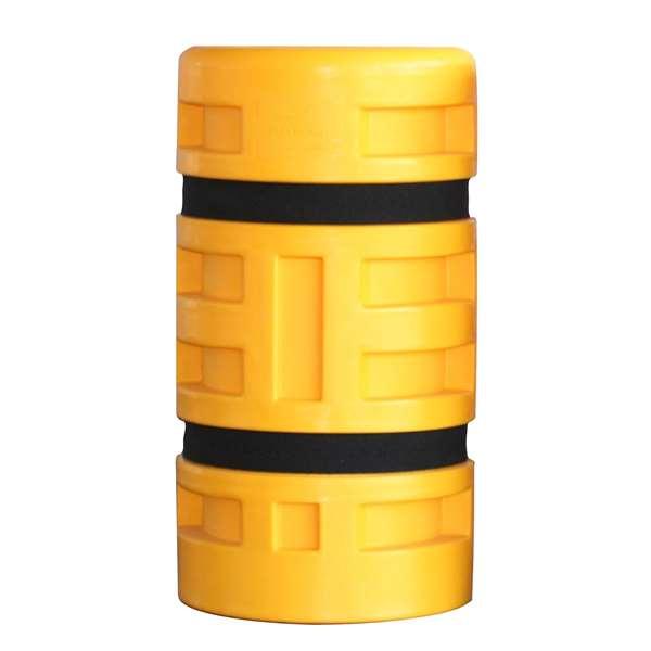 Säulenanfahrschutz -Bounce Four- aus HDPE, für eckige Säulen und Stahlträger