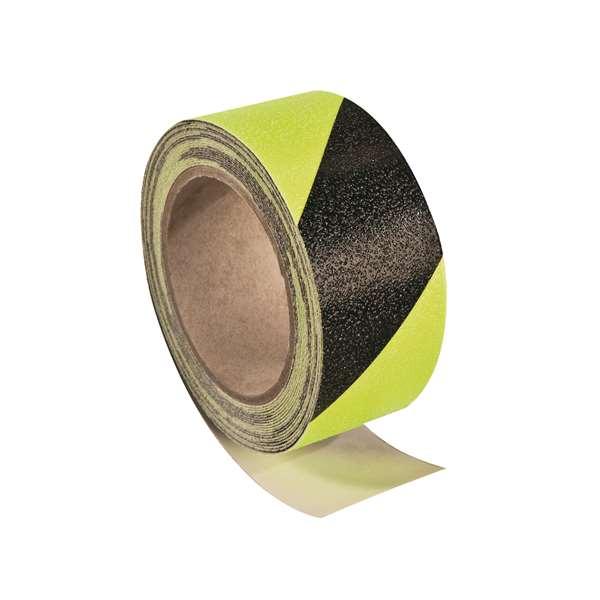 Antirutsch-Bodenmarkierungsband -PROline- tagesfluoreszierend, Rolle 6 m, selbstklebend