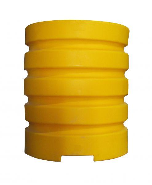 Säulenanfahrschutz -Bounce One- aus HDPE, für eckige Säulen und Stahlträger