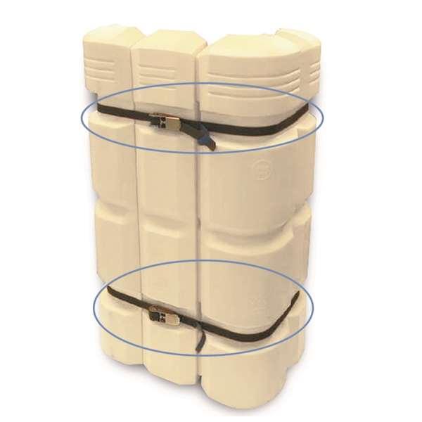 Spanngurt für Säulenanfahrschutz -Mountain-, 4000 mm