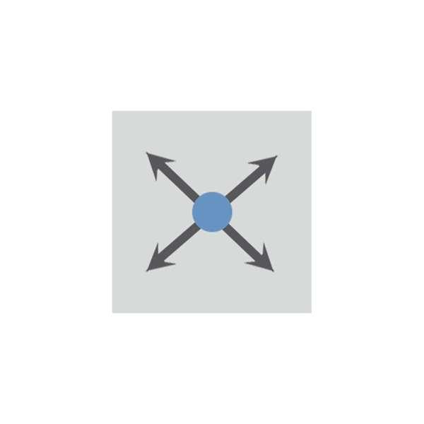 Überwachungsspiegel -PANORAMA-360- aus Acrylglas