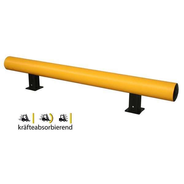 Rammschutzbalken -Bounce Mini-, flexibles Material, Höhe 200 mm, Länge 1200 oder 1800 mm