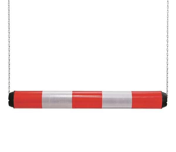 Höhenbegrenzer -Switch- aus Kunststoff, Breite 950 mm, Ø 100 mm, einteilig, rot-weiß reflektierend