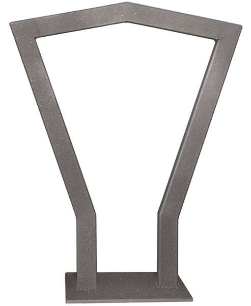 Anlehnbügel -Copa-, aus Stahl, Höhe 800 mm