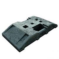 TL Fußplatte aus Kunststoff, ca. 29 kg