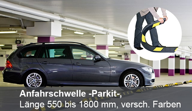 """Direkt zur Kategorie """"Verkehrstechnik/Parkplatzabgrenzung"""""""